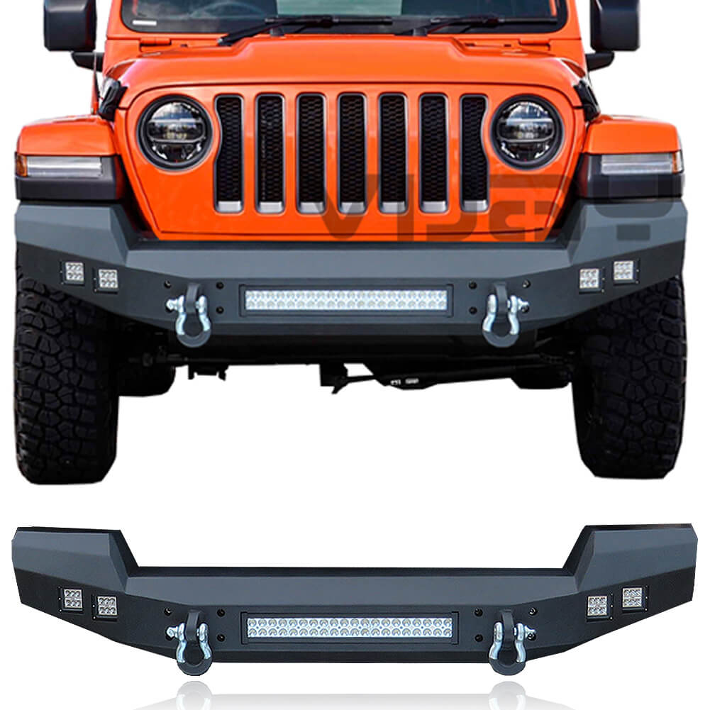 vijay front bumper for 20072021 jeep wrangler jljlu and